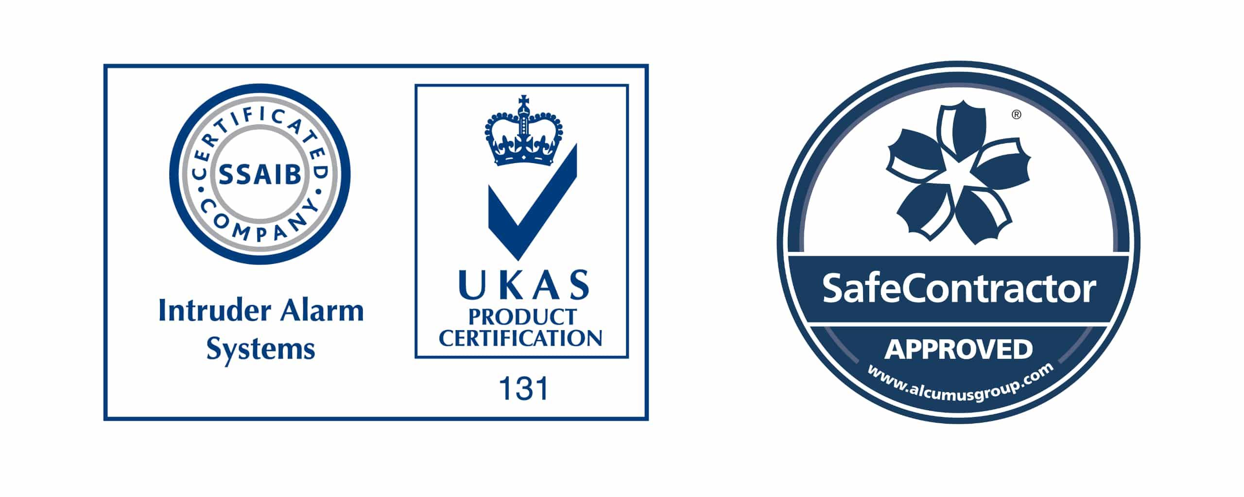 Seen Security - Safe Contractor Accreditation & UKAS Intruder Alarms Certified