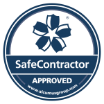 Seen Security are a Safe Contractor - Accreditation Sticker